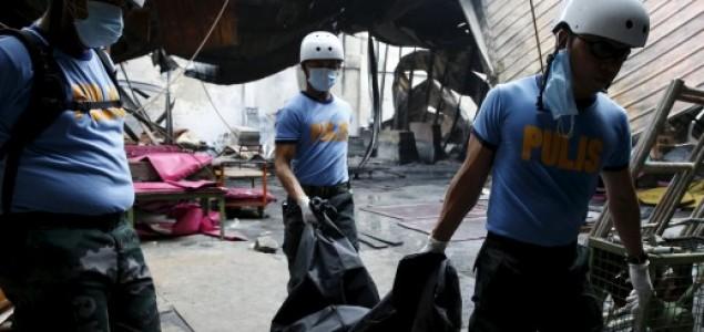 Užas na Filipinima: 58 radnika živo izgorjelo u požaru u tvornici cipela