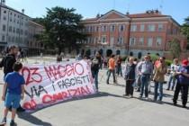 Crnokošuljaši na granici, Slovenija na nogama: Talijanski neofašisti marširaju Gorizijom