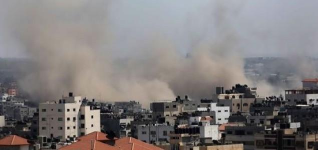 Izraelski avioni jutros bombardovali Gazu