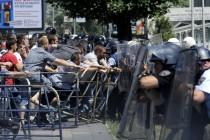 Makedonija: Počinje suđenje pritvorenim demonstrantima