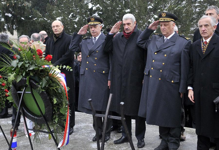 Zagreb 10.12.2012 - Obiljezavanje godisnjice smrti Franje Tudjmana