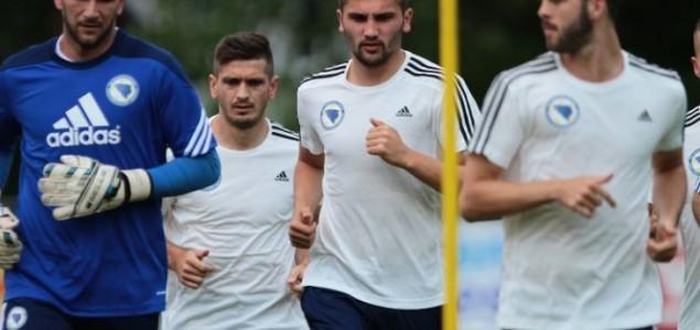 Reprezentativci BiH će do meča sa Irskom obaviti pet treninga