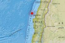 Jak zemljotres pogodio Čile, nije izazvao cunami