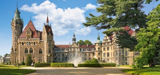 Najljepši dvorci svijeta: Dvorac Moszna, Poljska