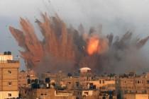 Izraelski zračni napadi na Gazu nakon raketne paljbe