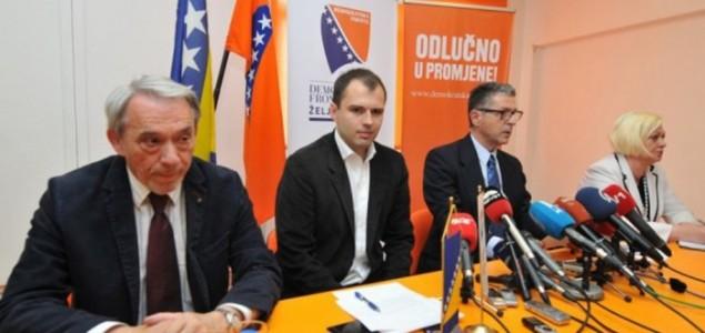 Remetić predao ostavke ministara Demokratske fronte u Vladi Federacije BiH