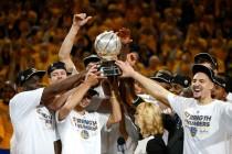Golden State Warriorsi osvojili NBA ligu