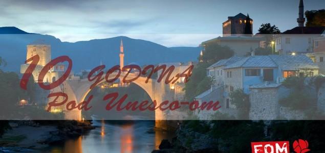 FOM SDP Mostar: Godišnjica Starog mosta pod UNESCO-om iskorištena za privatnu zabavu i elitizam