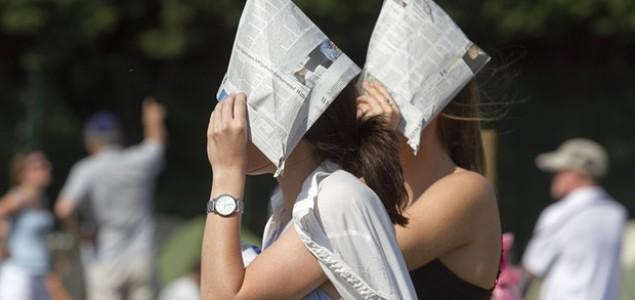 Srijeda je bila najtopliji dan u historiji Wimbledona
