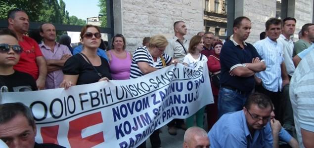 Sarajevo: Radnici neće danas prosvjedovati
