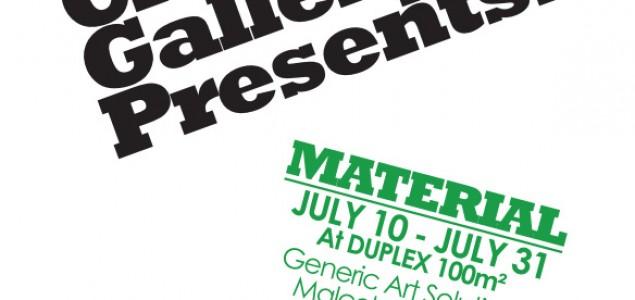 """""""GOOD CHILDREN GALLERY PREDSTAVLJA: 'MATERIJAL' """" OTVARANJE U DUPLEX-u 100M2, 10.07.2015.godine"""