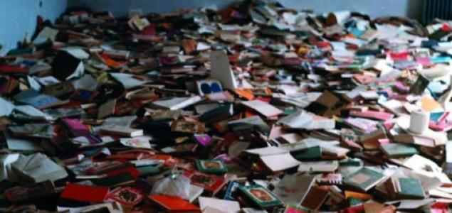 Devedesetih iz hrvatskih knjižnica izbačeno 2,8 milijuna nepodobnih knjiga