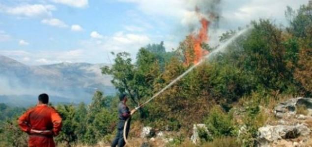 Na području HNK-a zabilježeno 10 požara