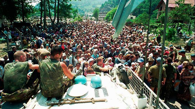 srebrenica juli 95