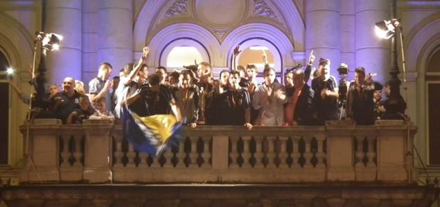 Foto galerija: Doček šampiona u Sarajevu