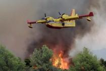 U gašenju požara na Prenju i Čvrsnici neophodna pomoć iz zraka
