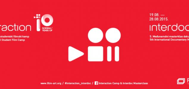 """NA SVETSKI DAN MLADIH, U POŽEGI, POČINJE JUBILARNI 10. MEĐUNARODNI STUDENTSKI FILMSKI KAMP """"INTERAKCIJA 2015"""""""