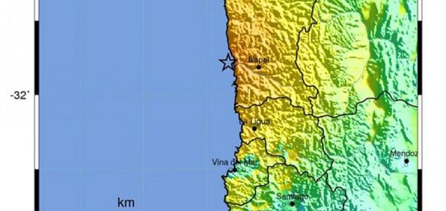 Razoran zemljotres u Čileu, cunami do pet metara