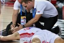 Trijumf Hrvatske reprezentacije zasjenila teška povreda Bojana Bogdanovića