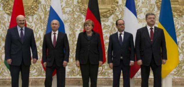 Oland, Merkel, Porošenko i Putin razgovarali o Ukrajini