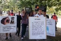 Protesti u Banjaluci: Zbog neobjektivnog informisanja RTRS-a (FOTO)