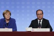 Oland i Merkel: Lokalni izbori u Ukrajini nakon 2015.