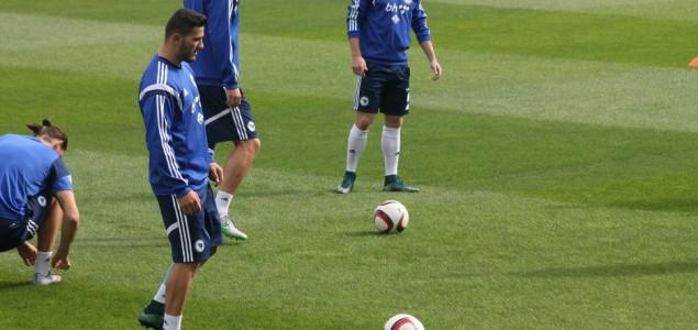 Zmajevi trenirali u trening centru: Džeko i Lulić bi trebali biti spremni za Vels