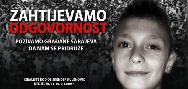 Građani Sarajeva najavili protestni skup: Zahtijevamo odgovornost za smrt dječaka Saliha