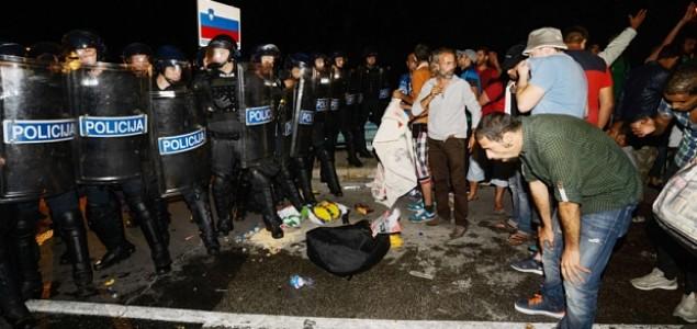 Slovenija: Strožija kontrola granice, moguće postavljanje ograde