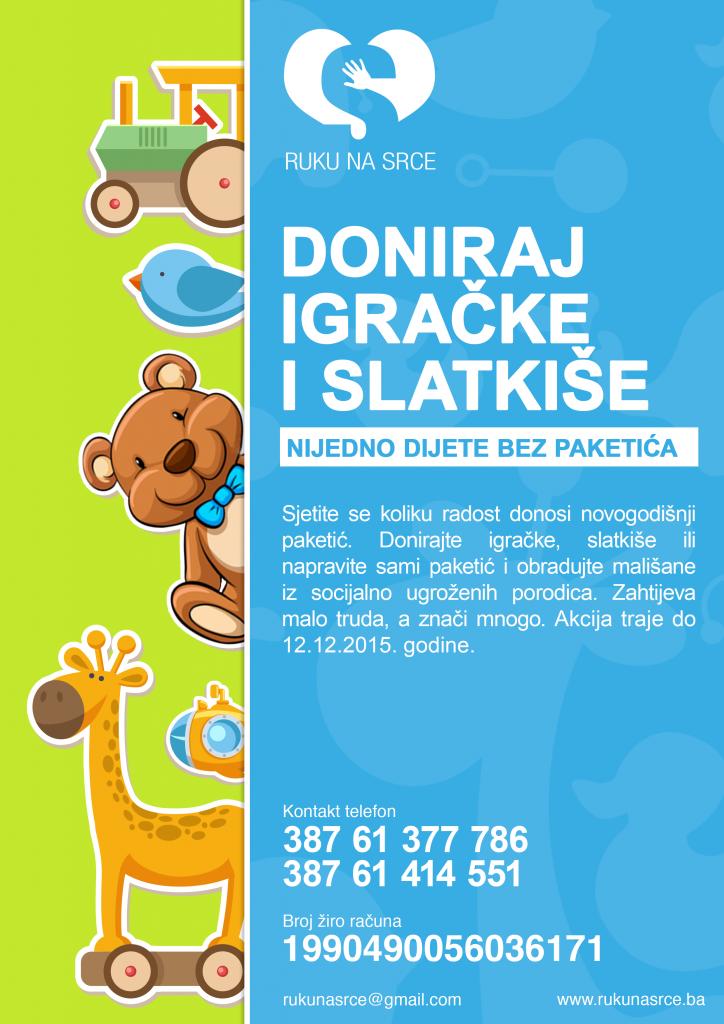 Nijedno dijete bez paketica 2015 - Promo plakat (3)