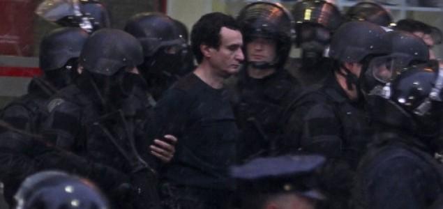 U Prištini veliki prosvjedi protiv sporazuma sa Srbijom, uhićen vođa oporbe