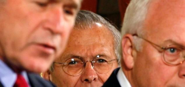 Kritika na reakciju na 11. septembar: Buš stariji obračunava se sa Čejnijem  i Rumsfeldom