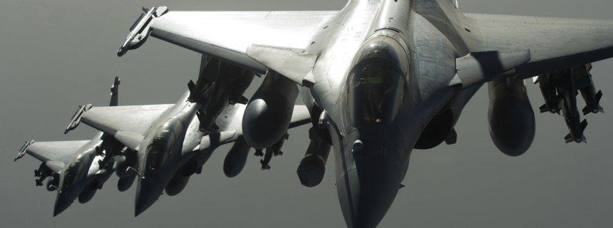 France Syria Airstrikes