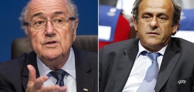 Teška kazna: Blatter i Platini dobili osam godina suspenzije