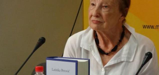 Latinka Perović u Zagrebu