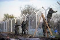 Završena gradnja ograde na makedonskoj granici