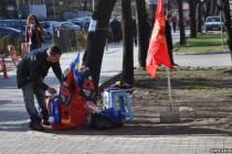 Protesti i proslava na osmu godišnjicu kosovske nezavisnosti