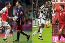 Noć za fudbalske sladokusce u Ligi prvaka: Arsenal dočekuje Barcelonu, Bayern gostuje Juventusu