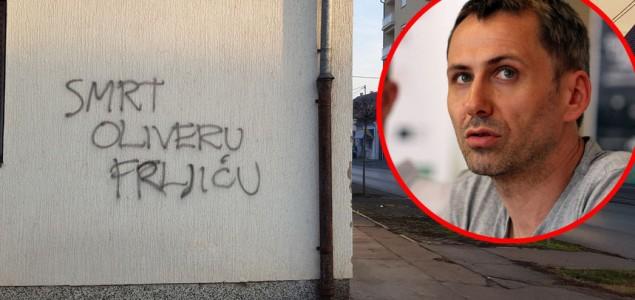 Frljićeva reakcija na prijeteći grafit u Vinkovcima: 'To je Hrvatska o kojoj Karamarko sanja'