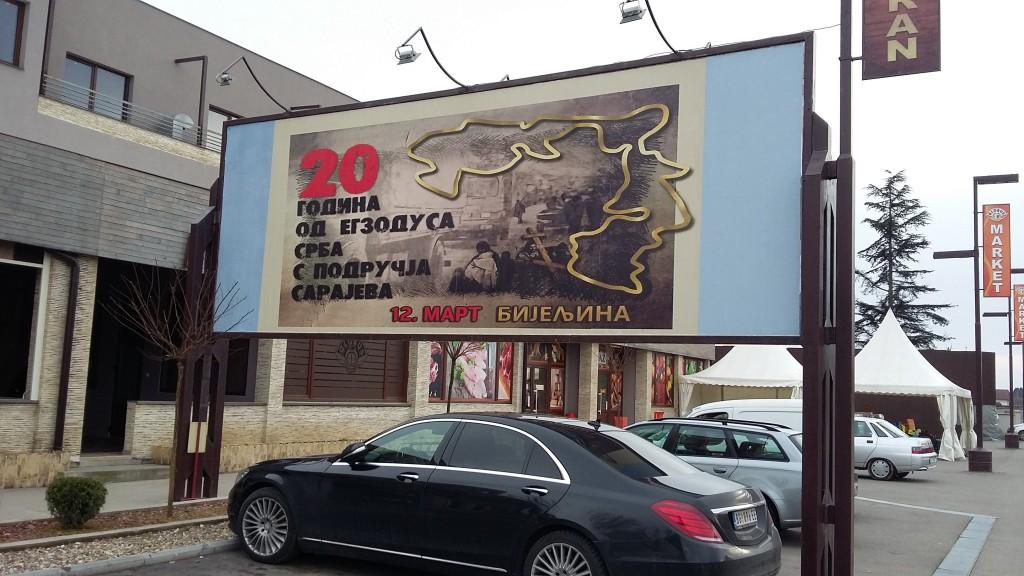 20 godina od egzodusa Srba sa područja Sarajeva