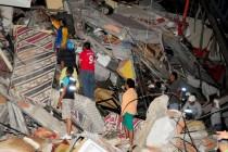 Najmanje 272 osobe poginule u zemljotresu u Ekvadoru