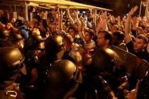Skoplje: Sukobi i hapšenja, povrijeđeni novinari i demonstranti