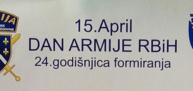 Obilježavanje 24 godišnjice formiranja Armije RBiH u Mostaru