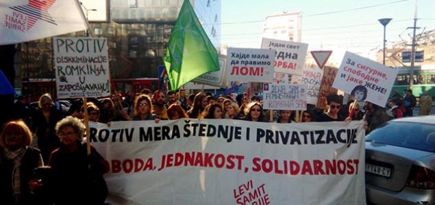 Prvomajski protesti u Srbiji