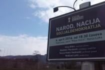 """Tribina """"Narod, nacija, socijaldemokratija"""" u Banja Luci"""