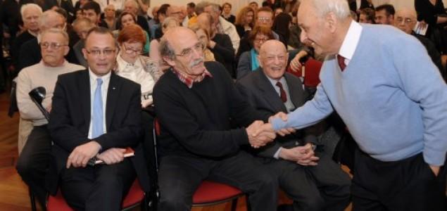 """Promocija knjige """"Jasenovac – tragika, mitomanija, istina"""" Slavka Goldsteina"""