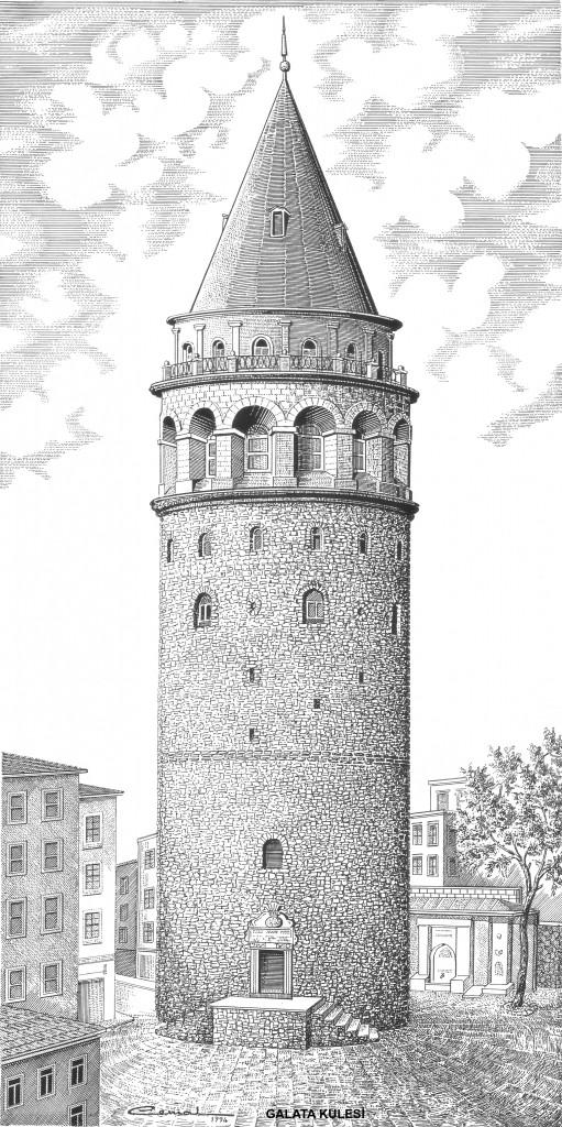galata kulesi A
