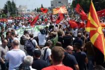 Ponovno prosvjedi 'Šarene revolucije' u Skoplju