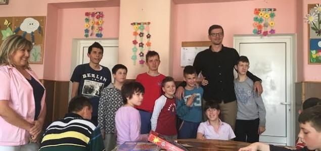 Mirza Teletović ispunio obećanje te posjetio Zavod za specijalno obrazovanje i odgoj djece Mjedenica