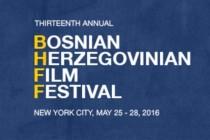 TRINAESTOGODIŠNJI BOSANSKOHERCEGOVAČKI FILMSKI FESTIVAL (BHFF) U NJUJORKU OBJAVLJUJE ZVANIČNI PROGRAM ZA 2016. GODINU